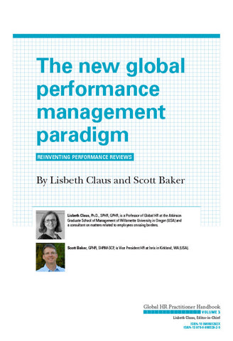 The New Global Performance Management Paradigm