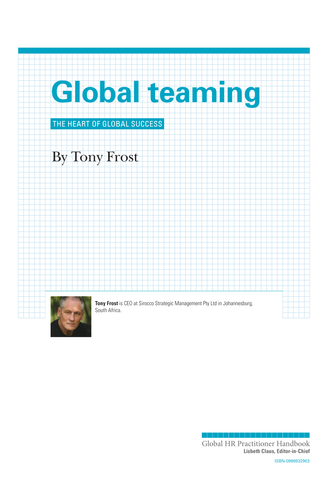 Global Teaming (University / Corporate Use)