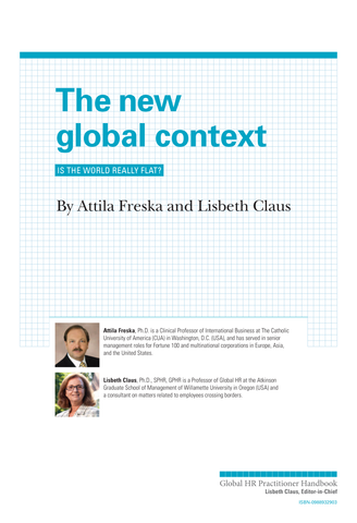 The New Global Context (University / Corporate Use)