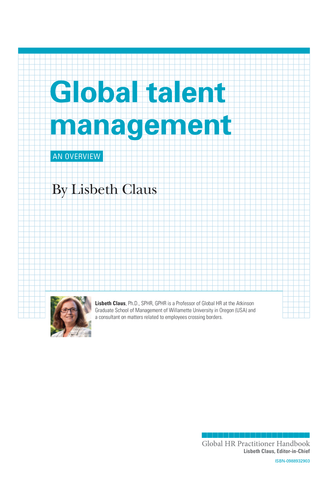 Global Talent Management (University / Corporate Use)