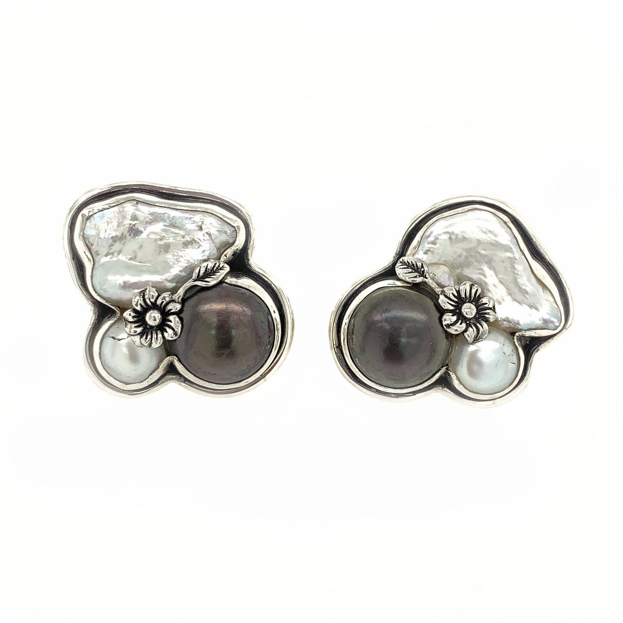 Baroque Pearl Earrings - Qinti - The Peruvian Shop