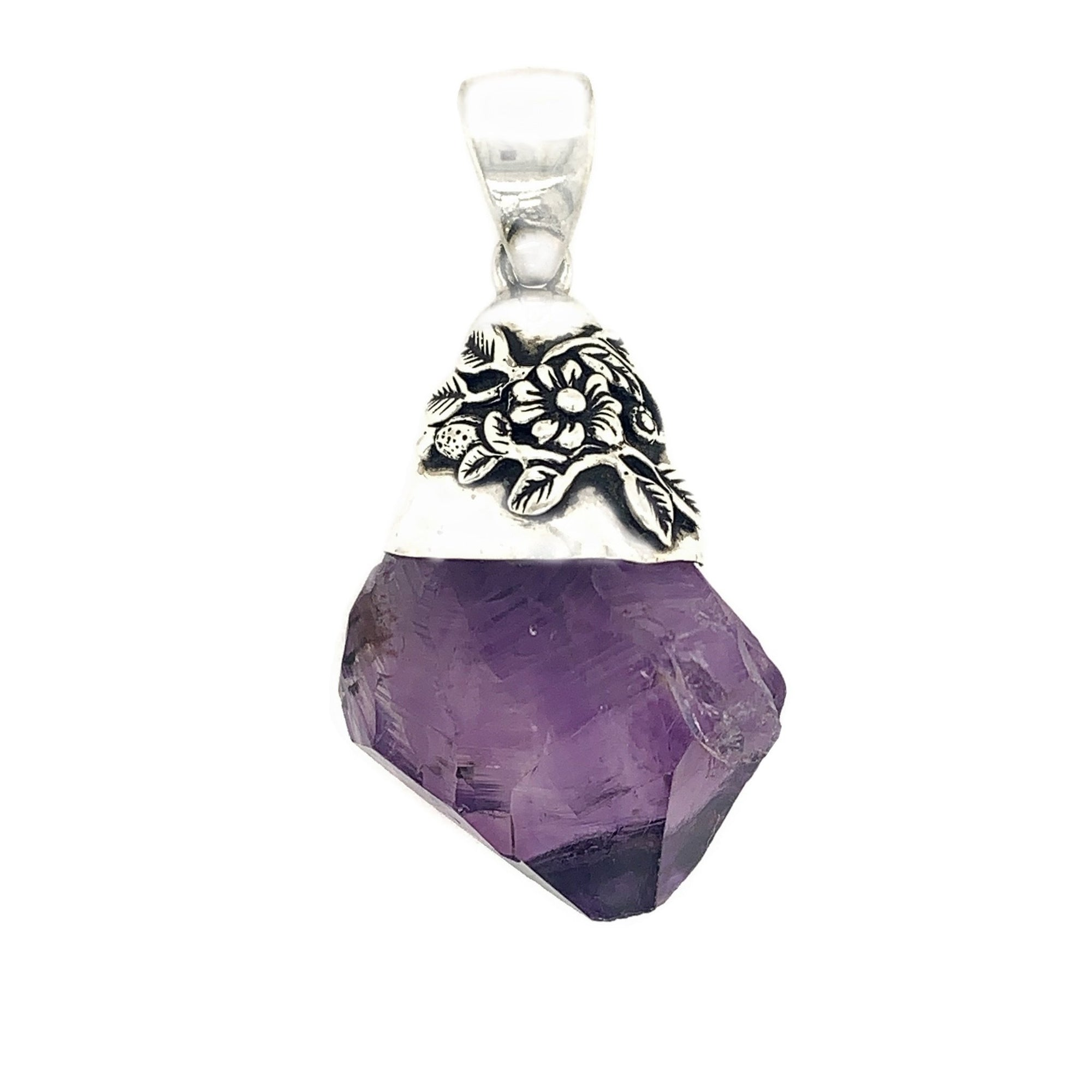 Amethyst Sterling Silver - Qinti - The Peruvian Shop