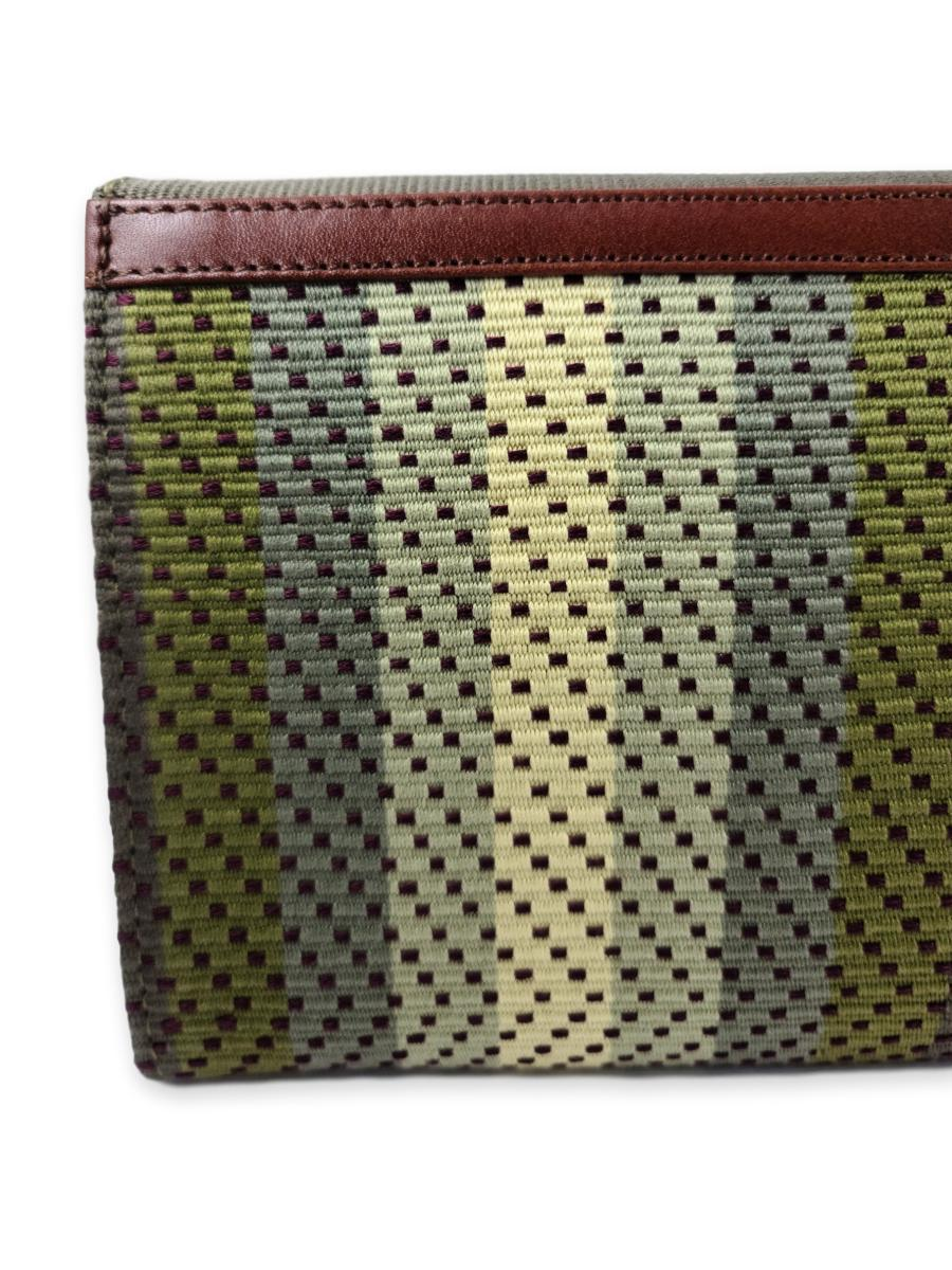 Large Clutch Bag - Greens - Qinti - The Peruvian Shop