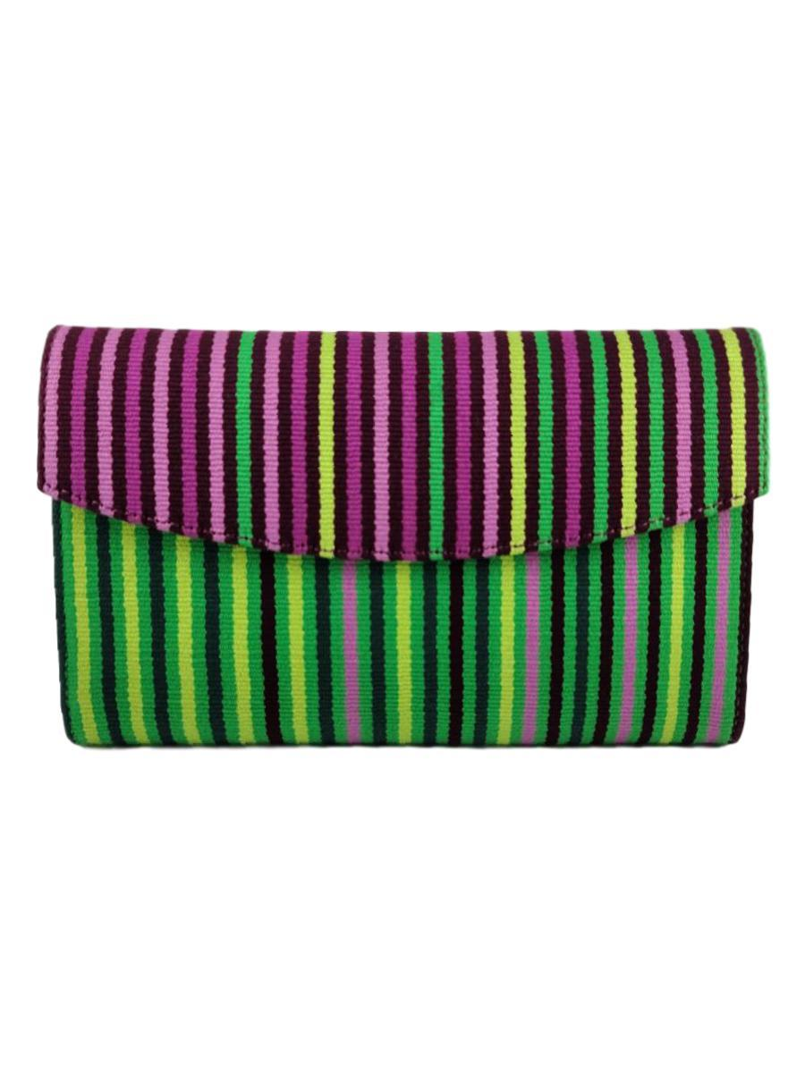 Small Classic Clutch - Orchid Collection - Qinti - The Peruvian Shop