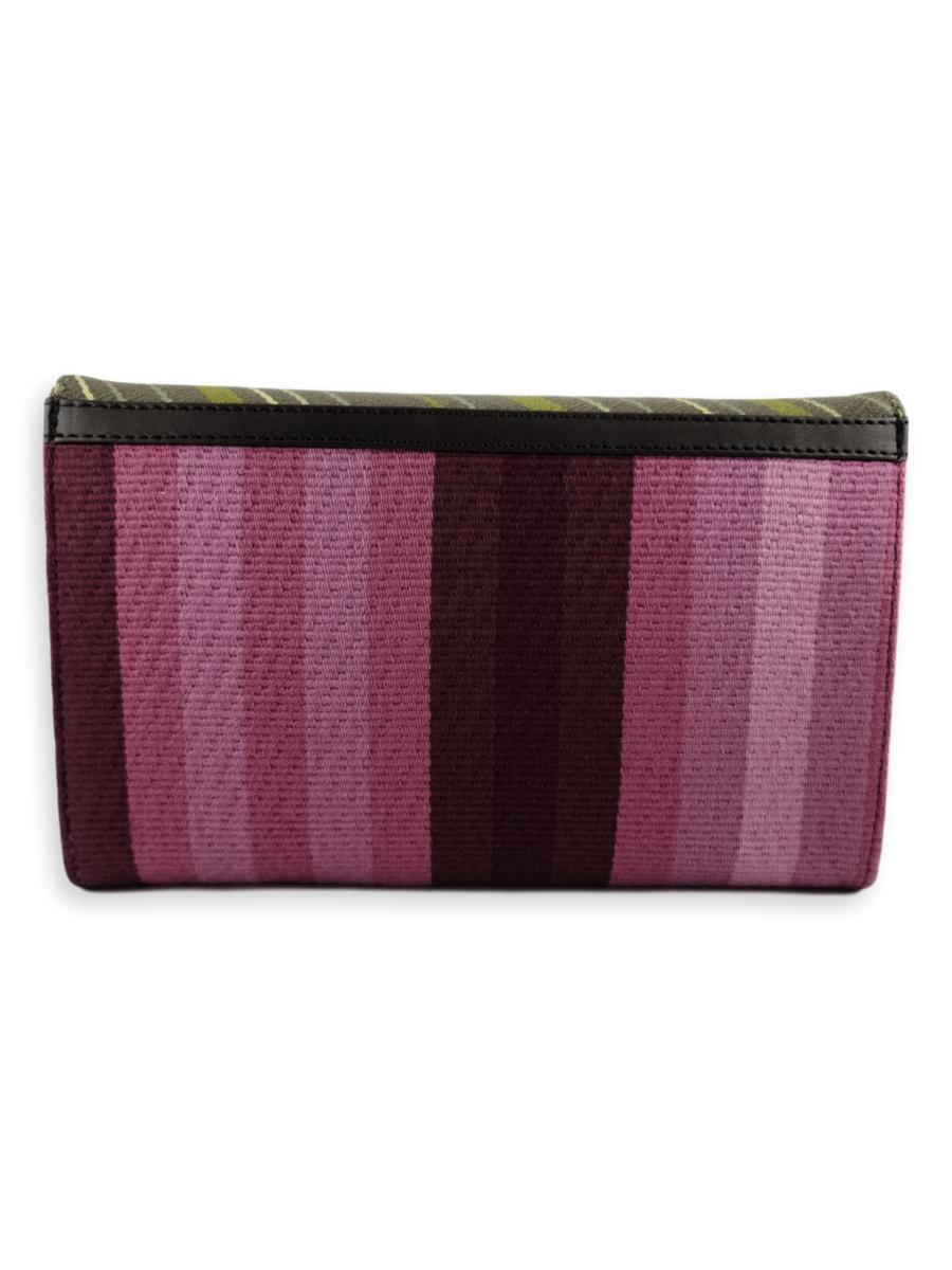 Small Clutch Bag - Lavender Fields - Qinti - The Peruvian Shop