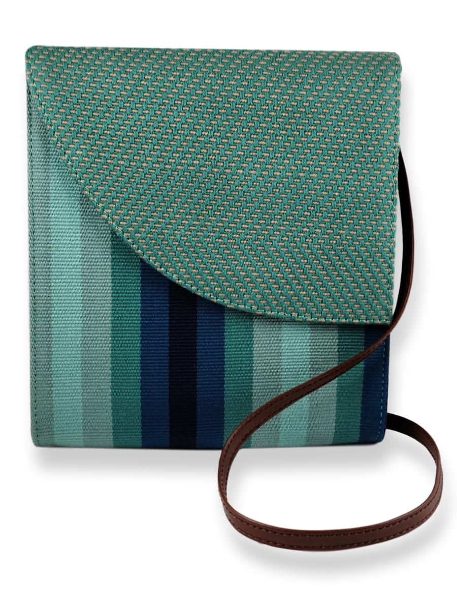 Crossbody Handbag - Ocean Blues