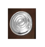 Serving Tray with Sterling Silver Spiral Accent - Qinti - The Peruvian Shop
