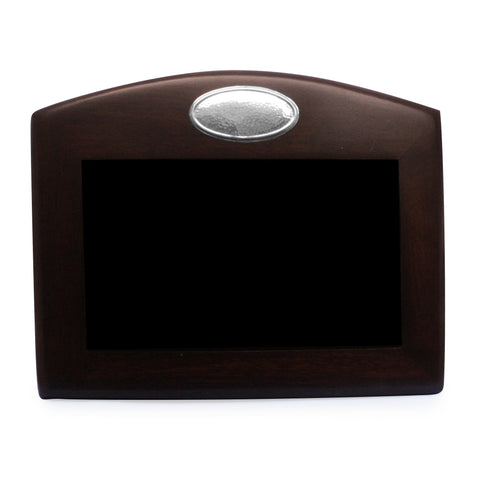 Captivating Mahogany Frame With Sterling Silver Plaque Mahogany Picture Frame With Sterling  Silver Accent. Holds 4