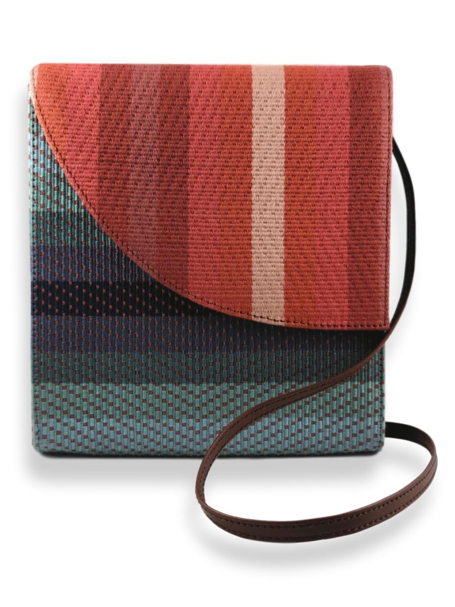 Curva Crossbody Handbag - Ocean Sunset