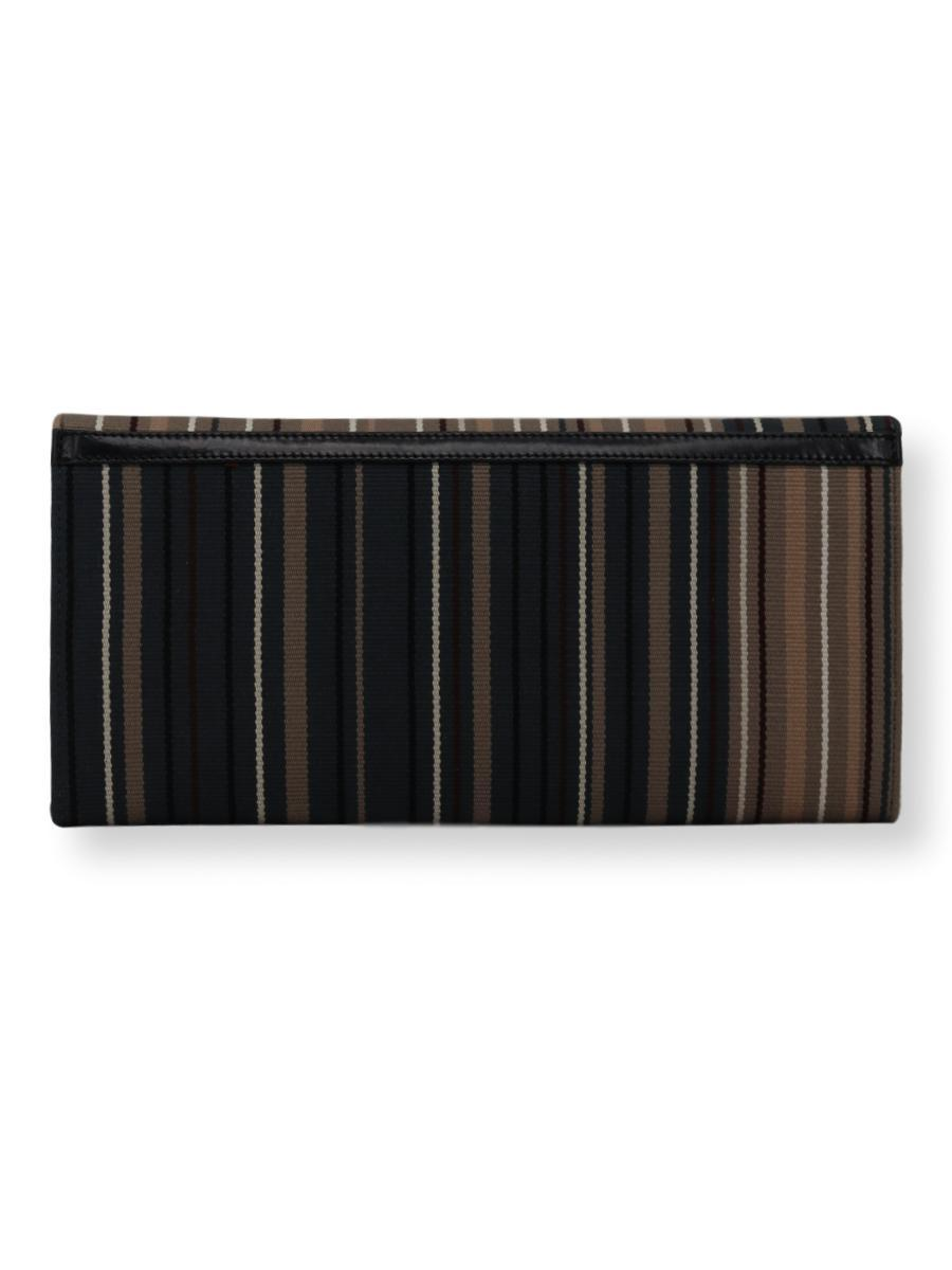 Large Clutch Bag -  charcoal/taupe/beige/white - Qinti - The Peruvian Shop