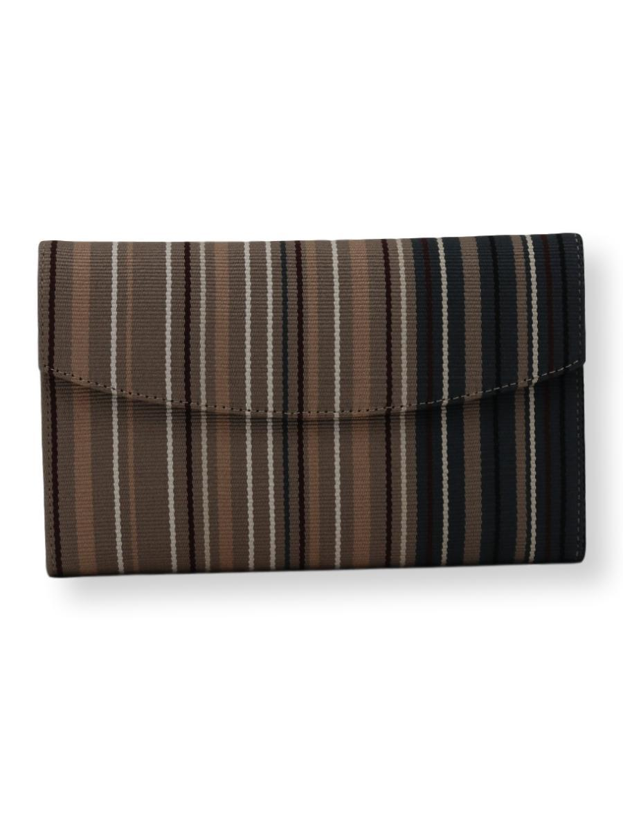 Small Clutch Bag - charc grey/taupe/beige/white - Qinti - The Peruvian Shop