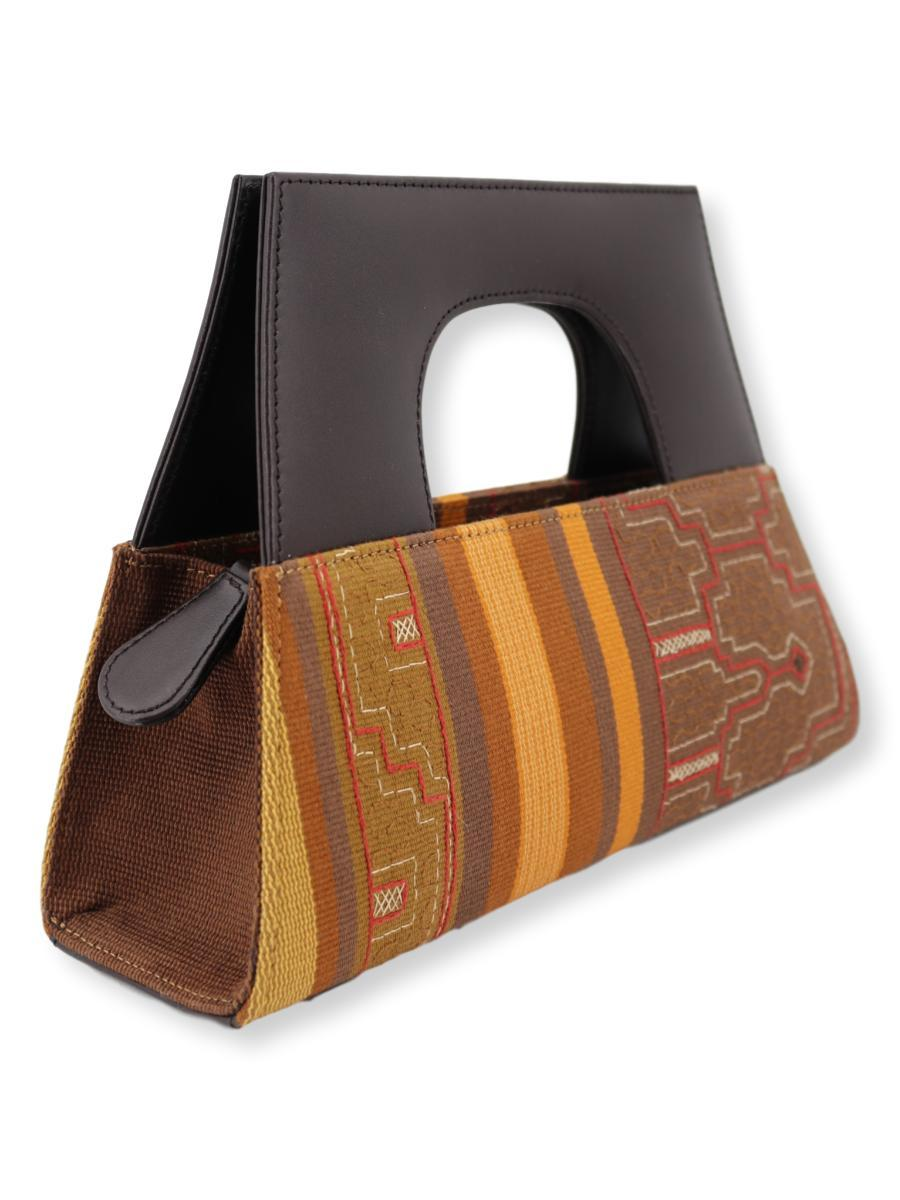 A-Chica Handbag - Shipibo Textile Collection - Qinti - The Peruvian Shop