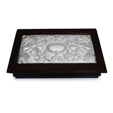 Keepsake Box – Sterling Silver Decor – Large , Mahogany & Silver Keepsake Boxes - ARTISANS ON MAIN STREET, {Artisan_Silver_Gifts} - 1