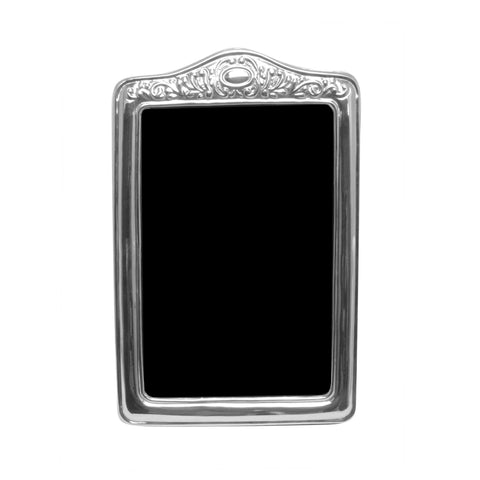 LIMA - Sterling Silver Portrait Frame , Classic frame - ARTISANS ON MAIN STREET, {Artisan_Silver_Gifts} - 1