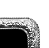 ROMANTICA - Sterling Silver Frame , Classic frame - ARTISANS ON MAIN STREET, {Artisan_Silver_Gifts} - 2