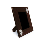 ROSAS Mahogany Frame with Sterling Silver Decor - Qinti - The Peruvian Shop