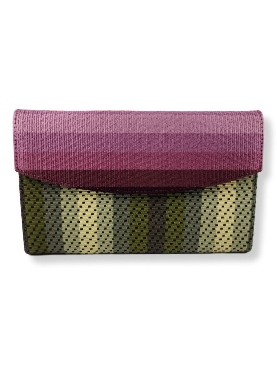 Small Clutch Bag - Flower Collection - Purple Horizon - Qinti - The Peruvian Shop