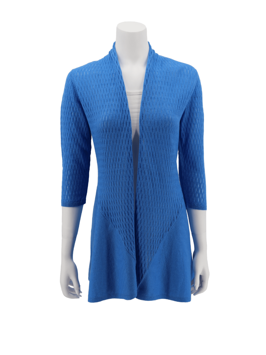 Pima Cotton Open Cardigan for Women