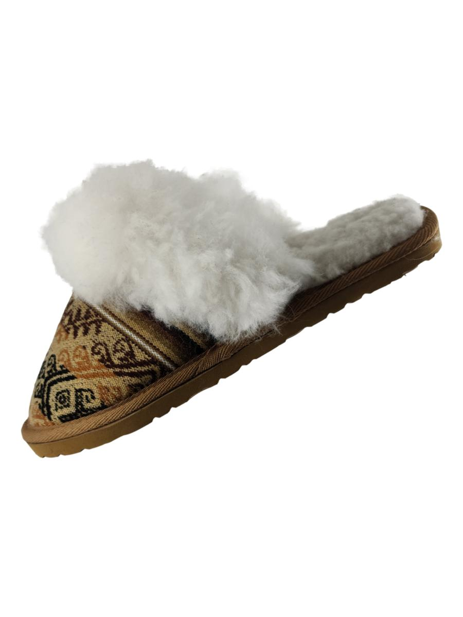 Alpaca Fur Slippers - Unisex