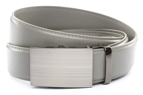 1-5-quot-classic-buckle-in-formal-gunmetal 1-5-quot-grey-leather-strap