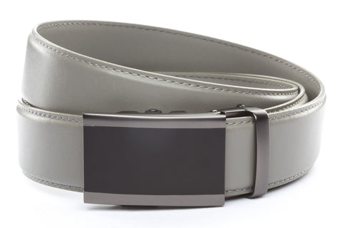 1-5-quot-onyx-buckle-in-matte-gunmetal 1-5-quot-grey-leather-strap