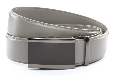 1-5-quot-onyx-buckle-in-smoked-gunmetal 1-5-quot-grey-leather-strap
