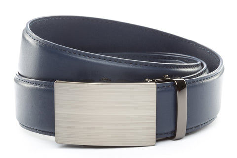1-5-quot-classic-buckle-in-formal-gunmetal 1-5-quot-navy-leather-strap