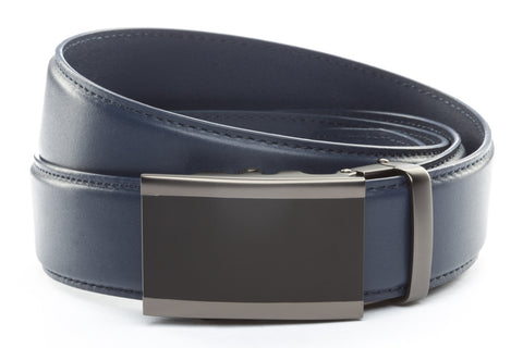 1-5-quot-onyx-buckle-in-matte-gunmetal 1-5-quot-navy-leather-strap