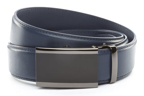 1-5-quot-onyx-buckle-in-smoked-gunmetal 1-5-quot-navy-leather-strap