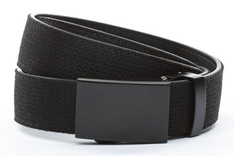 1-25-quot-classic-buckle-in-black 1-25-quot-black-canvas-strap