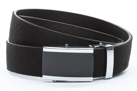 1-25-quot-onyx-buckle 1-25-quot-black-canvas-strap