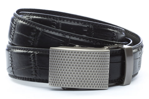 1-25-quot-anson-golf-buckle-in-gunmetal 1-25-quot-black-faux-croc-strap