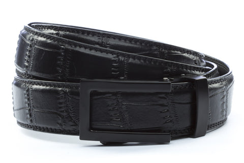 1-25-quot-traditional-buckle-in-black 1-25-quot-black-faux-croc-strap