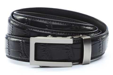 1-25-quot-traditional-buckle-in-gunmetal 1-25-quot-black-faux-croc-strap
