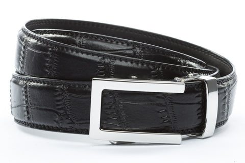 1-25-quot-nickel-free-traditional-buckle 1-25-quot-black-faux-croc-strap