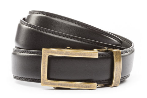 1-25-quot-traditional-buckle-in-antiqued-gold 1-25-quot-black-leather-strap
