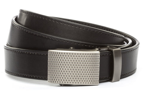 1-25-quot-anson-golf-buckle-in-gunmetal 1-25-quot-black-vegetable-tanned-leather-strap