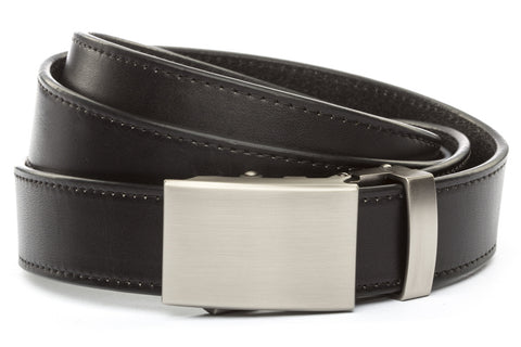 1-25-quot-classic-buckle-in-gunmetal 1-25-quot-black-vegetable-tanned-leather-strap