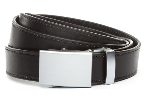1-25-quot-classic-buckle-in-silver 1-25-quot-black-vegetable-tanned-leather-strap