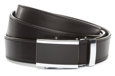 1-25-quot-onyx-buckle 1-25-quot-black-vegetable-tanned-leather-strap