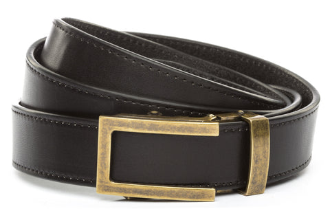 1-25-quot-traditional-buckle-in-antiqued-gold 1-25-quot-black-vegetable-tanned-leather-strap