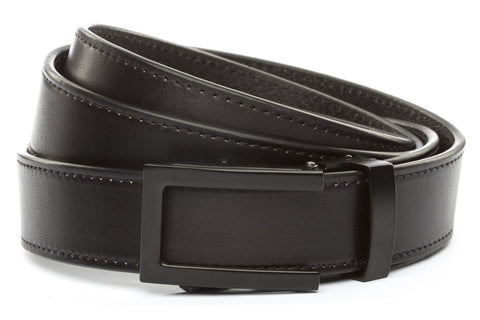 1-25-quot-traditional-buckle-in-black 1-25-quot-black-vegetable-tanned-leather-strap