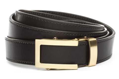 1-25-quot-traditional-buckle-in-gold 1-25-quot-black-vegetable-tanned-leather-strap