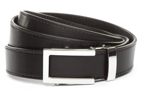 1-25-quot-nickel-free-traditional-buckle 1-25-quot-black-vegetable-tanned-leather-strap
