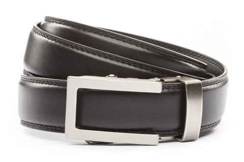 1-25-quot-traditional-buckle-in-gunmetal 1-25-quot-black-leather-strap