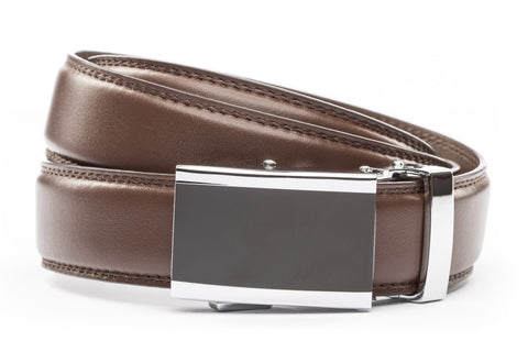 1-25-quot-onyx-buckle 1-25-quot-chocolate-leather-strap