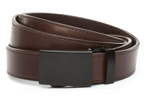 1-25-quot-classic-buckle-in-black 1-25-quot-chocolate-vegetable-tanned-leather-strap