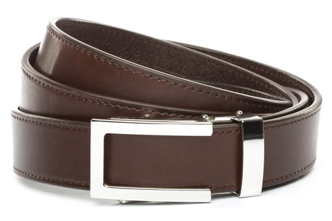 1-25-quot-nickel-free-traditional-buckle 1-25-chocolate-vegetable-tanned-leather