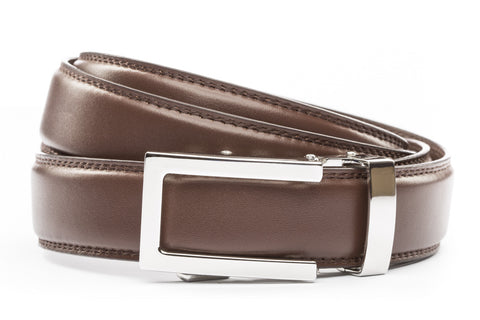 1-25-quot-nickel-free-traditional-buckle 1-25-quot-chocolate-leather-strap