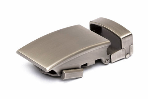 "1.25"" Classic Buckle in Gunmetal"